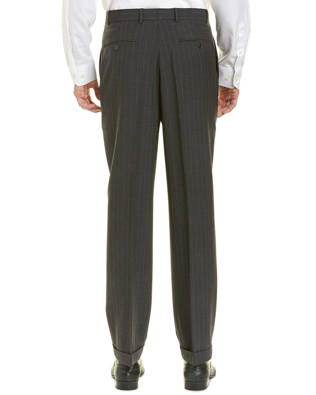 Brooks Brothers Madison Fit Pleated Front Wool-Blend Trouser