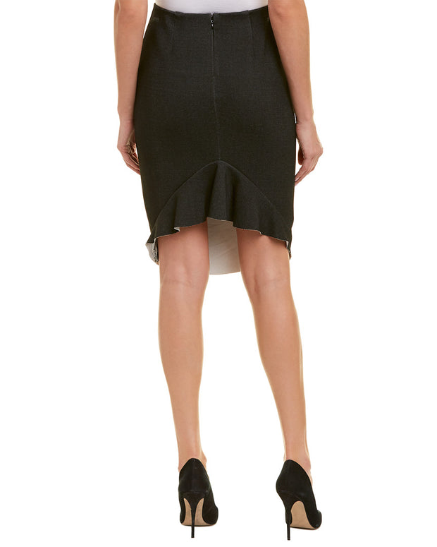 Alton Gray Pencil Skirt