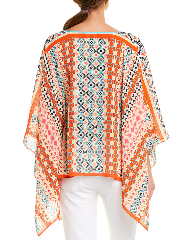 Laundry By Shelli Segal Poncho Top