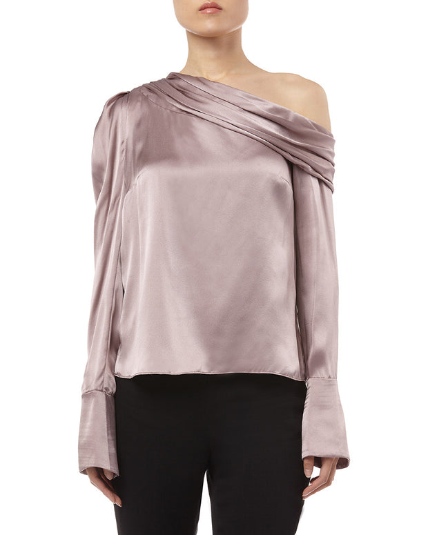 Amur Off The Shoulder Monica Silk Top