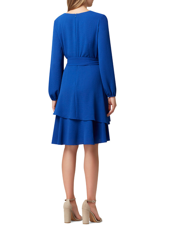 Tahari Asl Tie Waist Dress