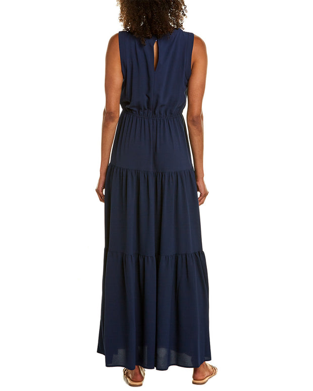 Violet Weekend Maxi Dress