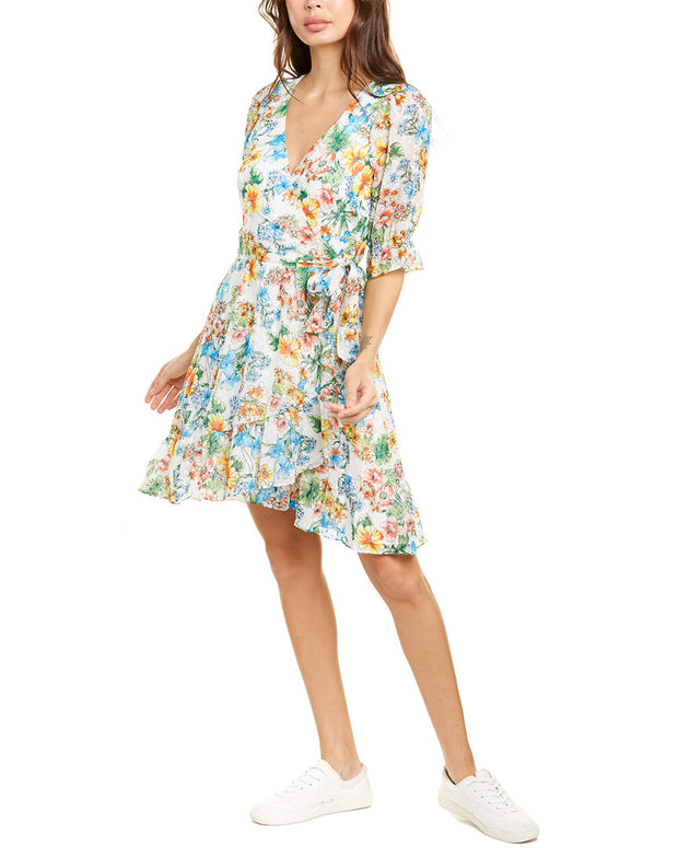 Ali & Jay Garden Trellis Wrap Dress