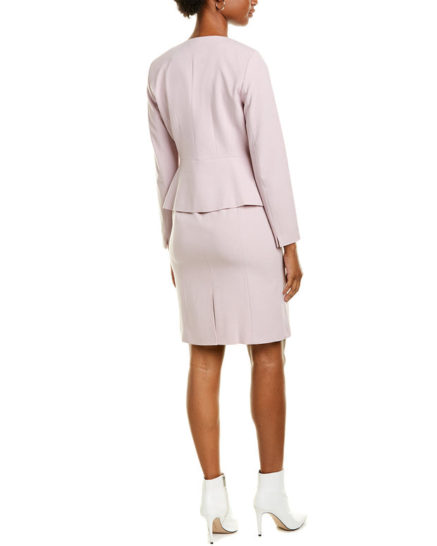 Tahari Asl 2Pc Jacket & Shift Dress Set
