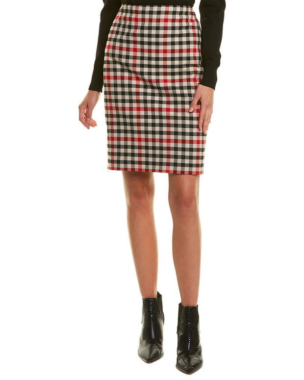 Karl Lagerfeld Plaid Mini Skirt