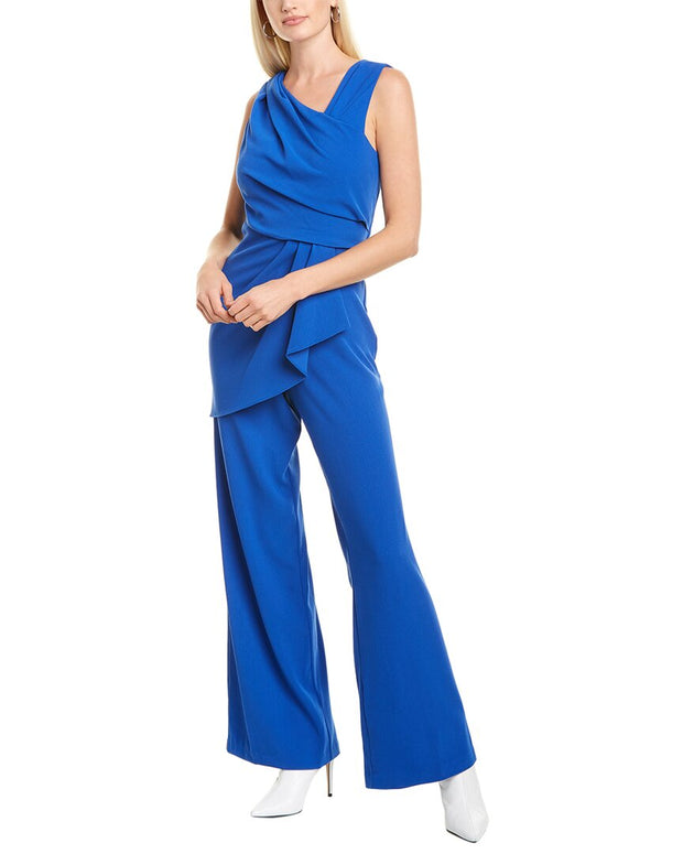 Adrianna Papell Draped Jumpsuit