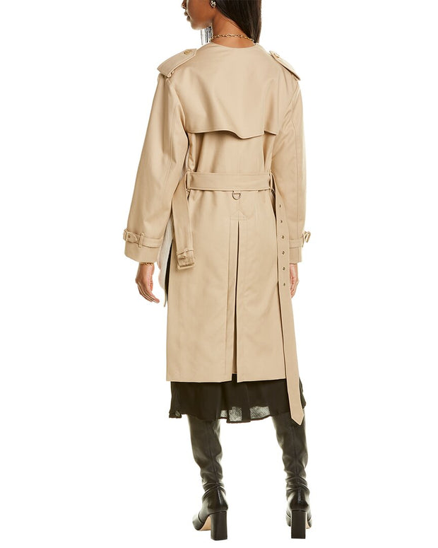 Burberry Trench Wool-Blend Cardigan