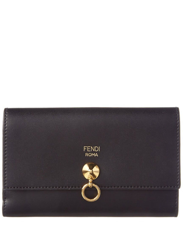 Fendi By The Way Medium Leather Continental Wallet