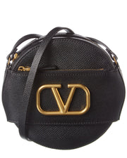 Valentino Vlogo Leather Crossbody
