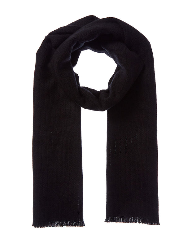 Amicale Cashmere Texture Weave Cashmere Scarf