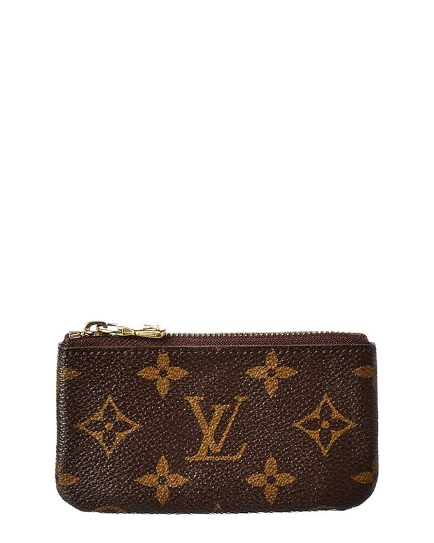 Pre-Owned Louis Vuitton Monogram Canvas Pochette Cles