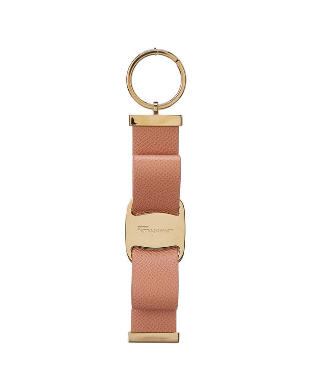 Salvatore Ferragamo Vara Bow Leather Key Ring