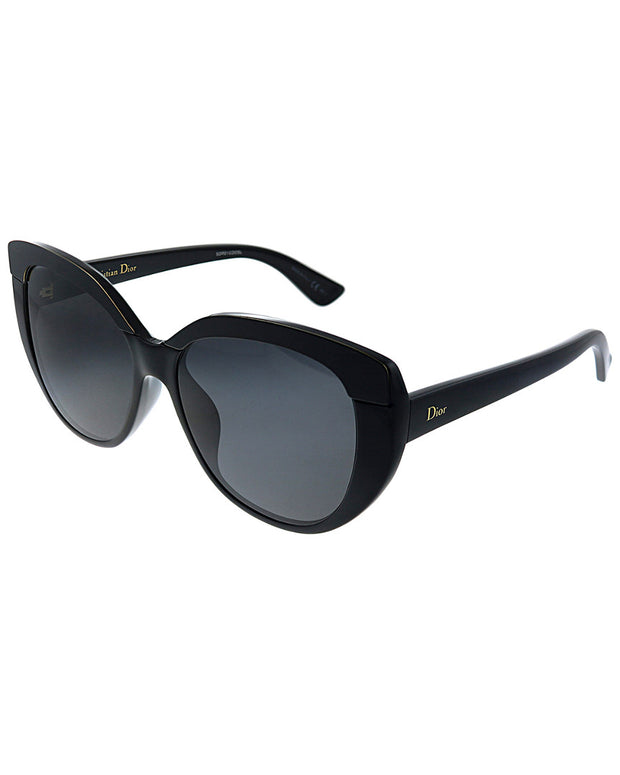 Dior Women's Soft2 55Mm Sunglasses