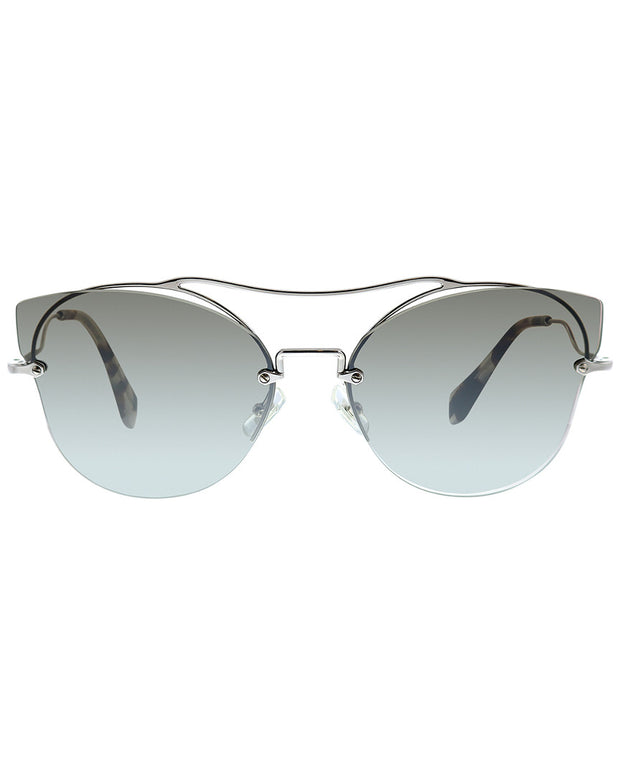 Miu Miu Women's Butterfly 62Mm Sunglasses
