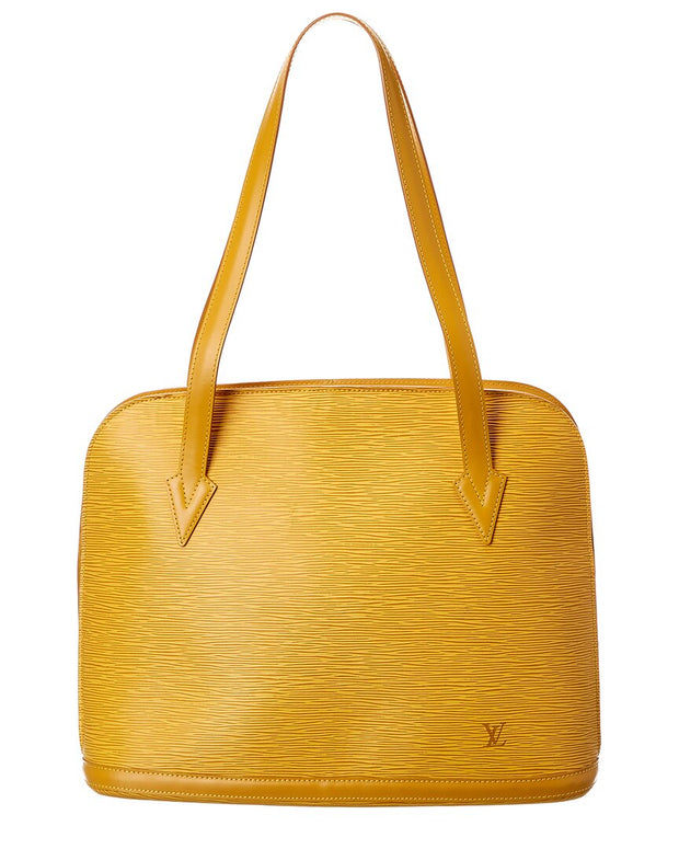 Pre-Owned Louis Vuitton Yellow Epi Leather Lussac