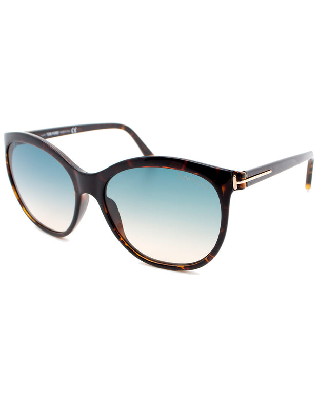 Tom Ford Women's Geraldine 57Mm Sunglasses