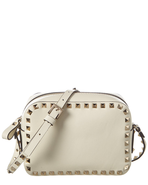 Valentino Rockstud Small Leather Camera Bag