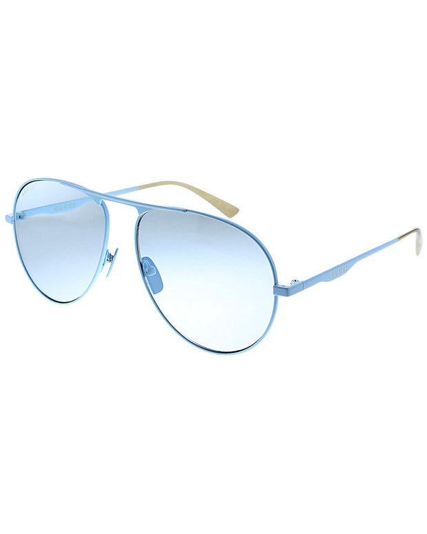 Gucci Women's Aviator 60Mm Sunglasses