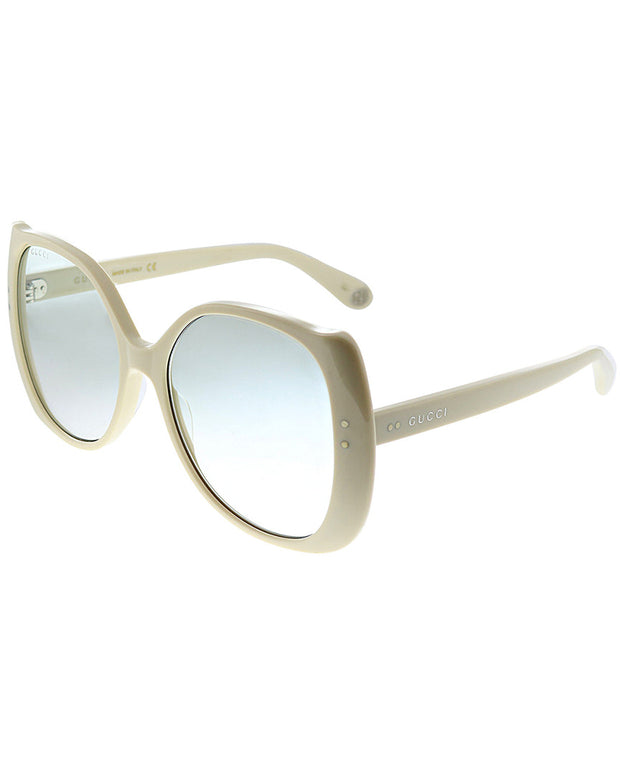 Gucci Women's Square 56Mm Sunglasses