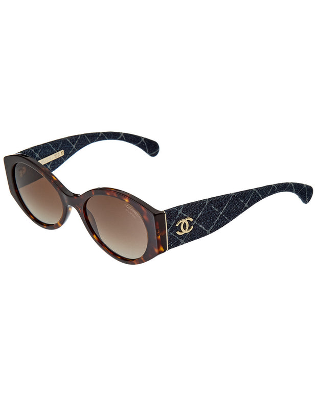 Chanel Women's Ch5405 53Mm Polarized Sunglasses