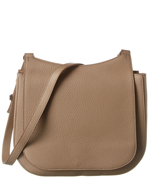 The Row Hunting 9 Leather Satchel