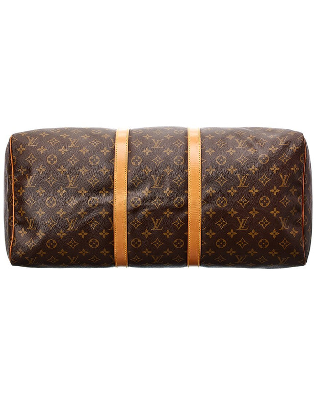 Pre-Owned Louis Vuitton Monogram Canvas Keepall 55