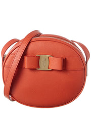 Salvatore Ferragamo Vara Bow Mini Leather Crossbody