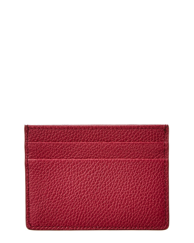 Dolce & Gabbana Tumbled Leather Card Holder