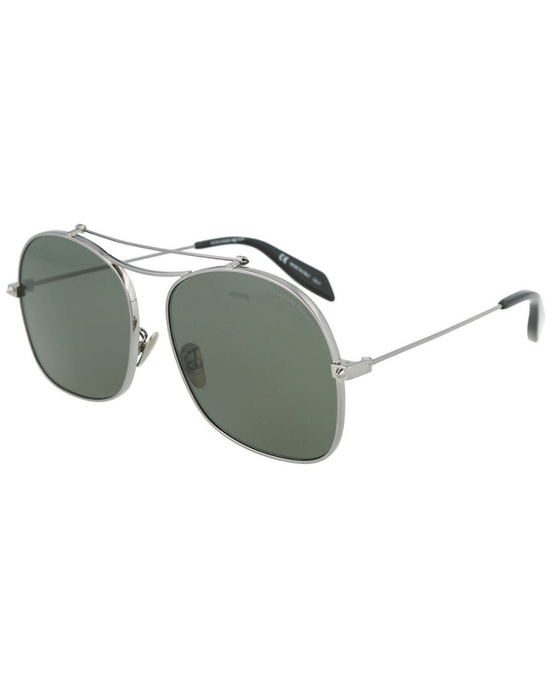Alexander Mcqueen Unisex Am0088s 59Mm Sunglasses