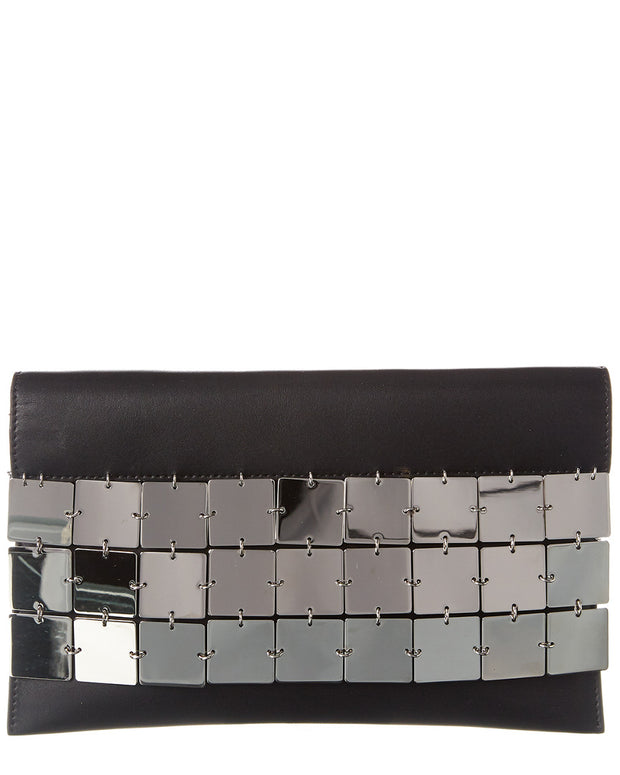The Row Leather Clutch