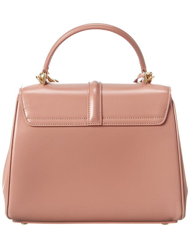 Celine Small 16 Leather Satchel