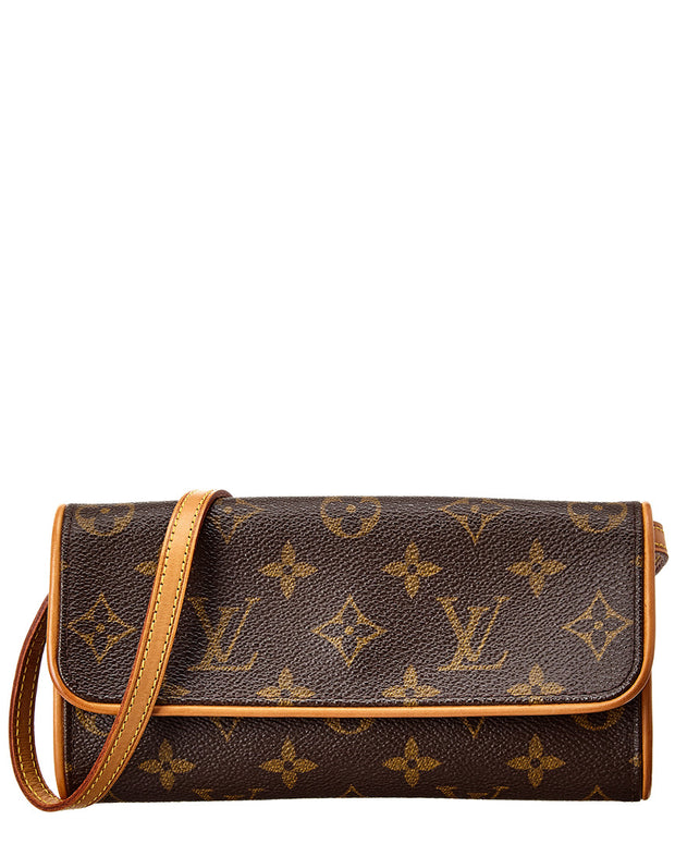 Pre-Owned Louis Vuitton Monogram Canvas Pochette Twin Pm