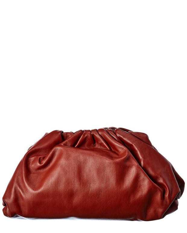Bottega Veneta The Pouch Leather Clutch