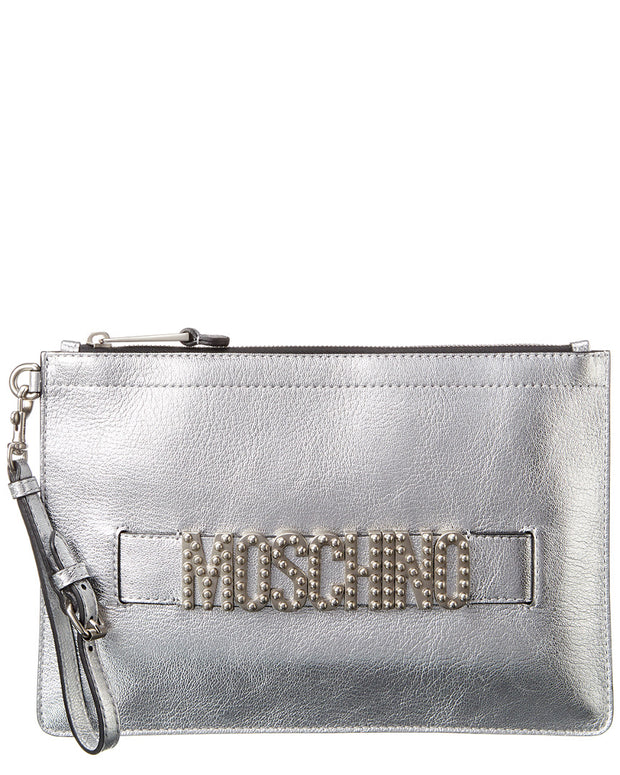 Moschino Leather Pouch