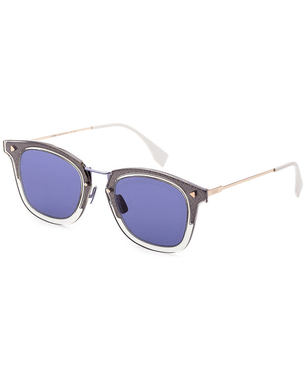 Fendi Men's Fashion 47Mm Sunglasses