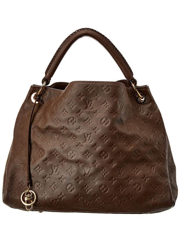 Pre-Owned Louis Vuitton Brown Empreinte Leather Artsy Mm