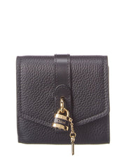 Chloe Aby Leather Trifold Wallet