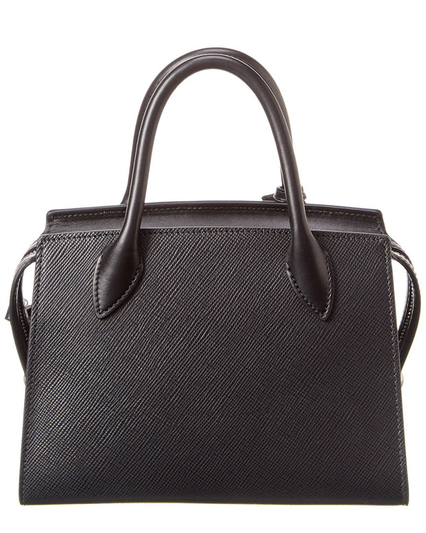 Prada Monochrome Small Saffiano Leather Satchel