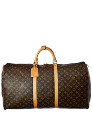 Pre-Owned Louis Vuitton Monogram Canvas Keepall 60