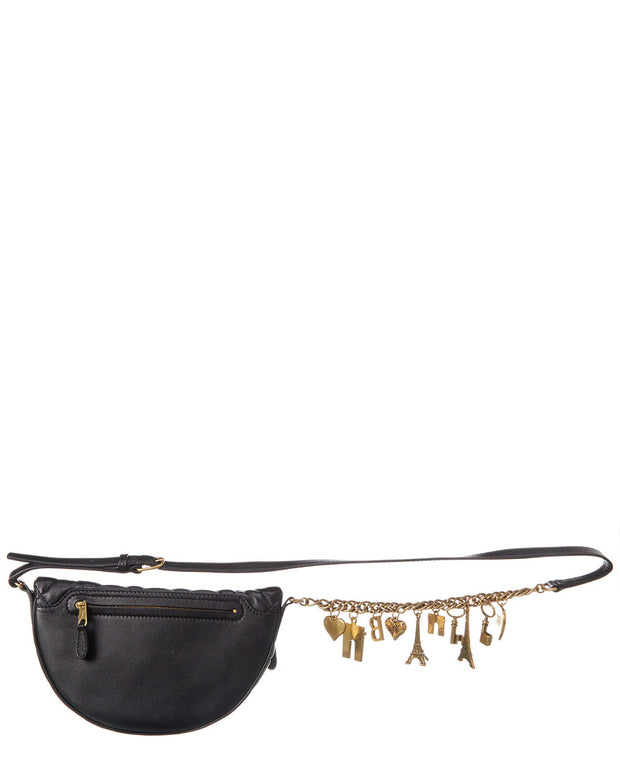 Balenciaga Souvenirs Charms Xxs Quilted Leather Belt Bag