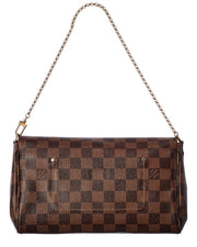 Pre-Owned Louis Vuitton Damier Ebene Canvas Favorite Mm