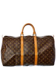 Pre-Owned Louis Vuitton Monogram Canvas Keepall 50