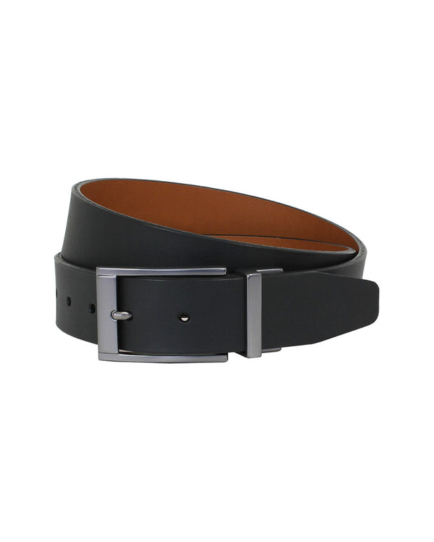 The British Belt Company Ridlington Reversible Leather Belt
