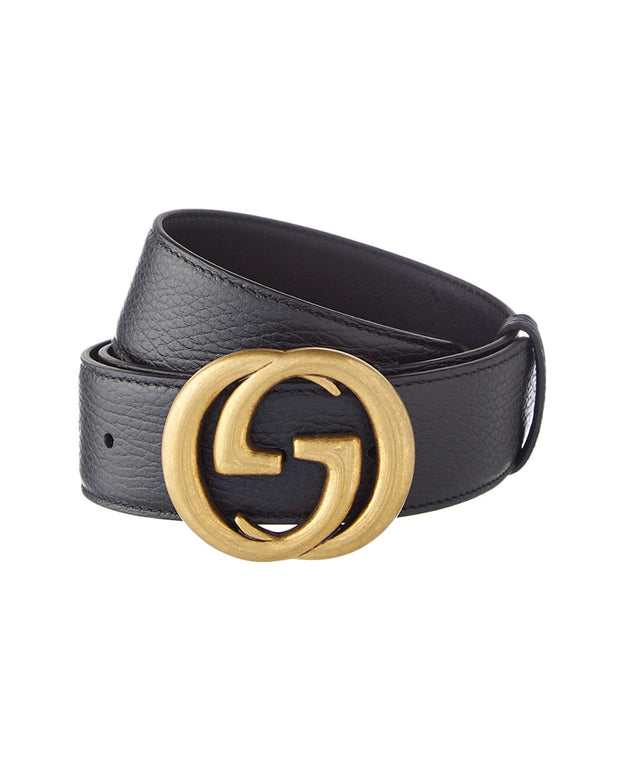 Gucci Marmont Gg Interlocking Leather Belt