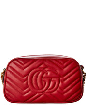 Gucci Gg Marmont Matelasse Small Leather Shoulder Bag