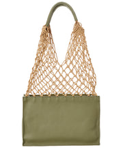 Steven Alan William Leather Bucket Bag
