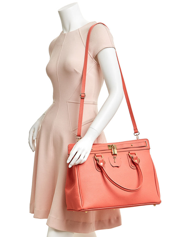 Markese Maya Leather Satchel