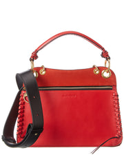 See By Chloe Tilda Top Handle Leather & Suede Shoulder Bag