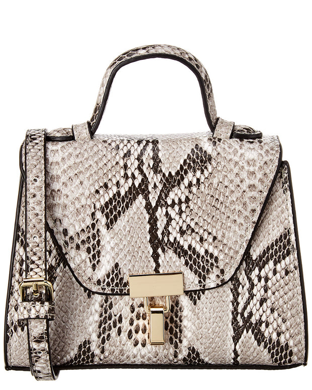 Kc Jagger Top Handle Python Crossbody