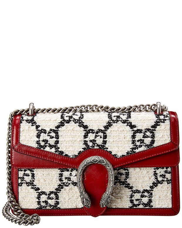 Gucci Dionysus Small Tweed & Leather Shoulder Bag